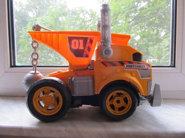 Большая музыкальная строительная машина грузовик (США)