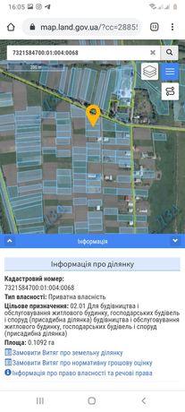 Продам земельну ділянку Терміново