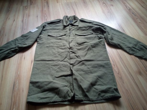 Amerykańska koszula mundurowa.