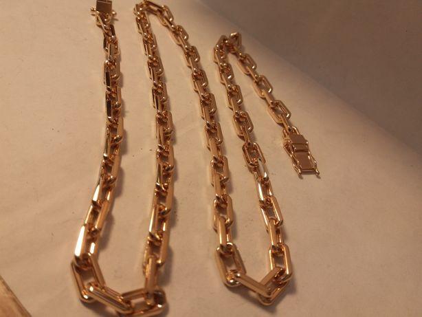 Золотая якорная цепь 55гамм