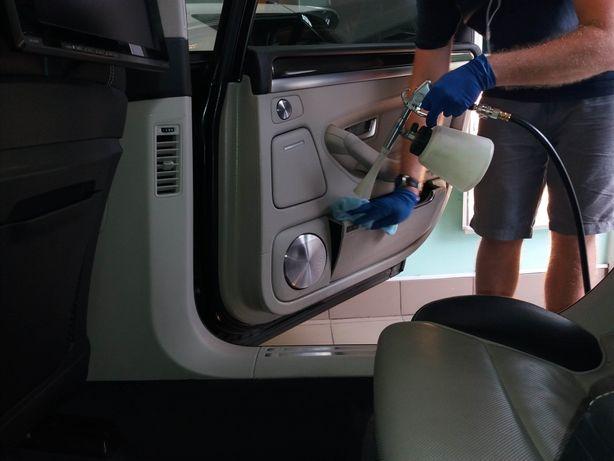 Предпродажная подготовка авто, химчистка в Макеевке