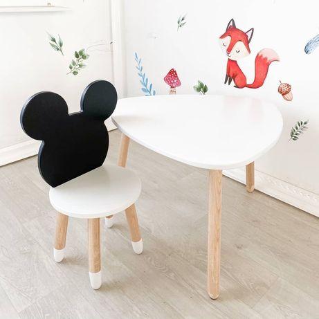 Детская мебель стул стол трон