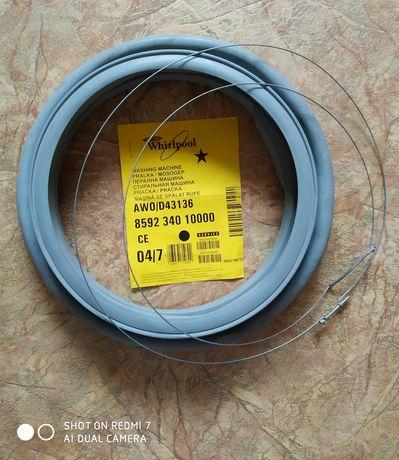 Манжета  (резинка) люка Whirlpool по цене хомута