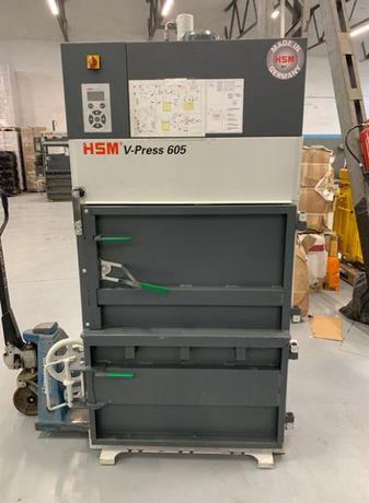 Belownica prasa do makulatury folia odzież abs HSM V-press 605