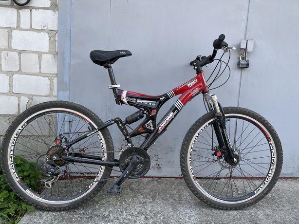 """Горный велосипед ARDIS INFINITY AMT 26"""" 19"""" Черный/Красный"""