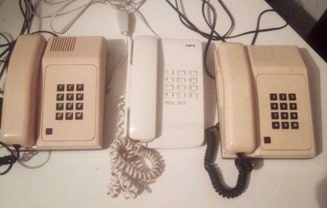 Conjunto de telefones fixos