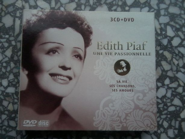 """Edith Piaf """"Une vie passionnelle"""" 3CD+DVD"""