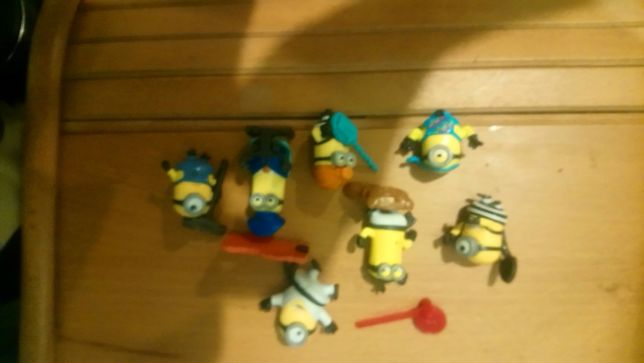 Киндеры игрушки миньоны