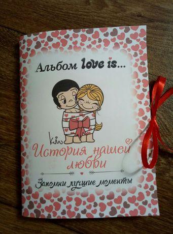 История нашей любви в стили Love is