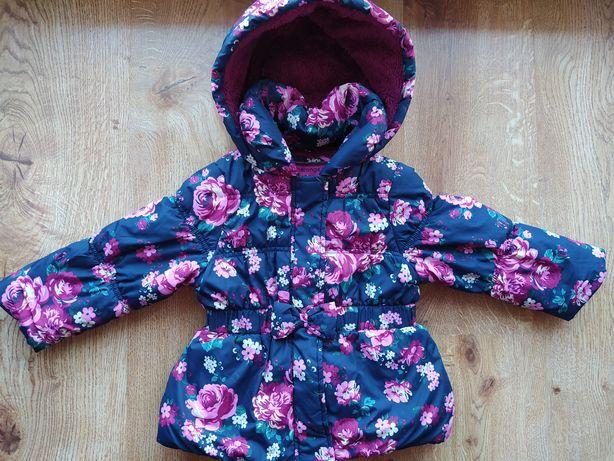 Śliczna kurteczka zimowa dla Dziewczynki