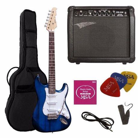 Conjunto 'top' guitarra elétrica ST5 MSA VISION - NOVO