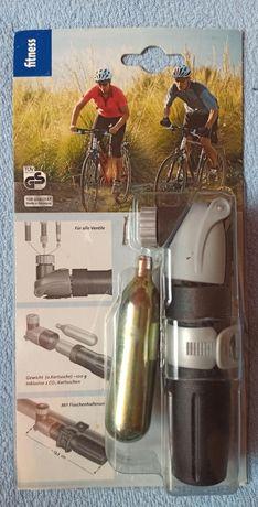 Pompka do roweru na CO2 bez gwintu