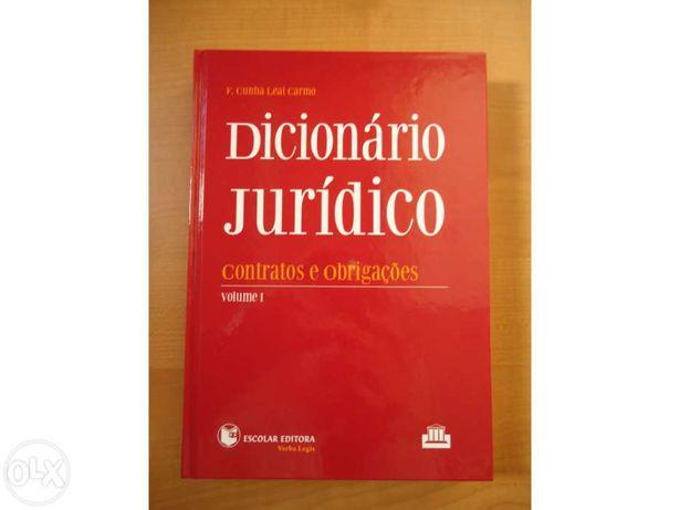 Dicionário Jurídico, contratos e obrigações, volume I