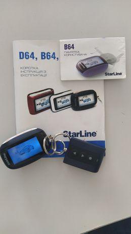 Всього пів ціни автомобільна сигналізація StarLine B64,  2 CAN
