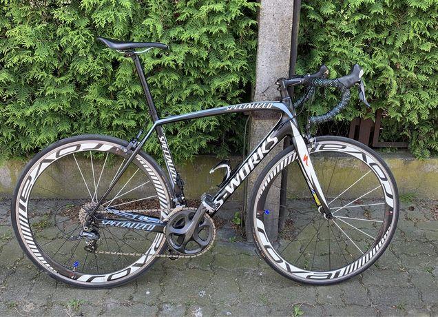 Rower szosowy Specjalized s works tarmac karbonowy rozmiar 56