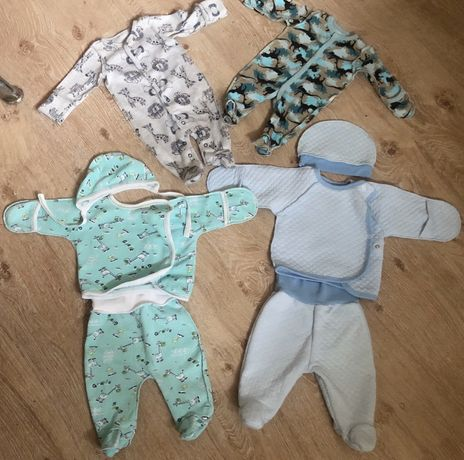 Набор вещей для новорожденных! 10 вещей!