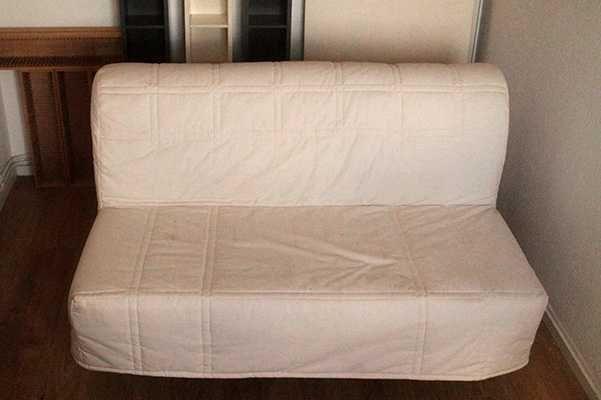 Sofa-Cama Ikea, com capa
