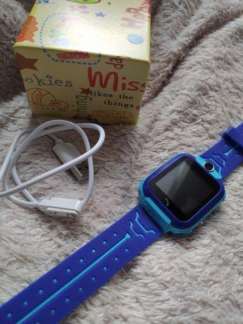 Smartwatch zegarek Q12 dla dzieci, z lokalizatorem GPS