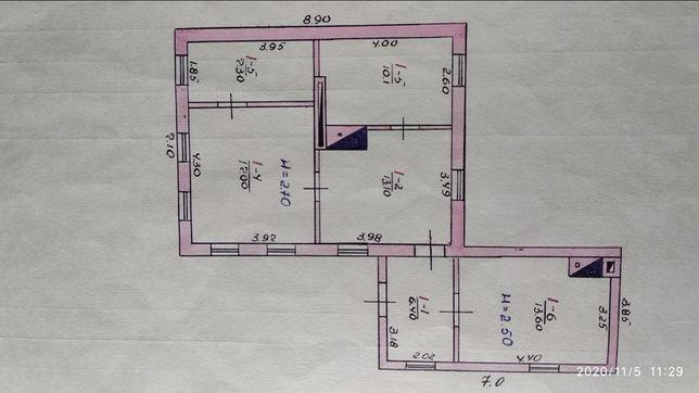 Продам дом в с. Зайцево (ул. Гагарина 83)