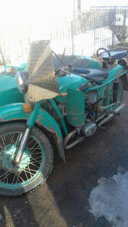 Мотоцикол М -63, с коляской