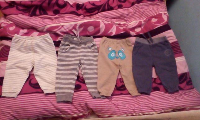 Spodnie dresowe r.80