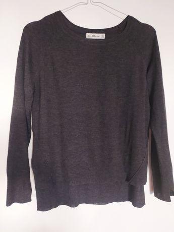 Sweter sweterek cienki ZARA 36 S