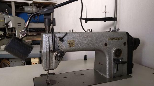 Máquina de costura industrial ponto corrido