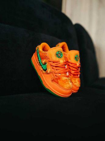 Adidasy dla dziecka Nike SB pomarancz