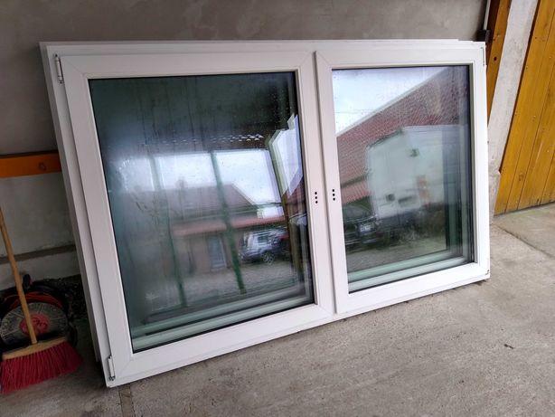Okna plastikowe używane 218x136 z demontażu z Niemiec! OKNAWĄSOSZ
