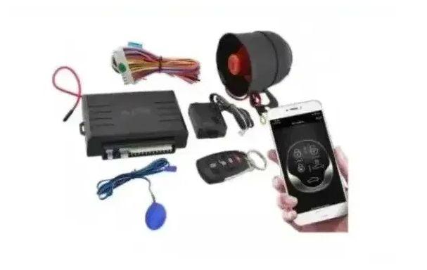 Универсальная автомобильная сигнализация car flarm 2 way kd динамическ