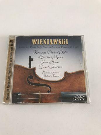 Wieniawski - utwory na skrzypce - Kulka, Nizioł, Pławner, Stabrawa. CD
