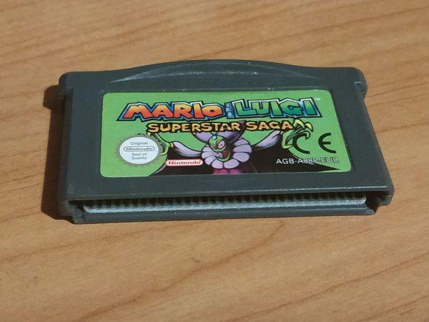 Mario & Luigi Superstar Saga GBA Gameboy Advance gra