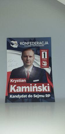 Autograf - Krystian Kamuński