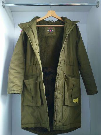 Zimowa kurtka dziewczęca Reserved 158
