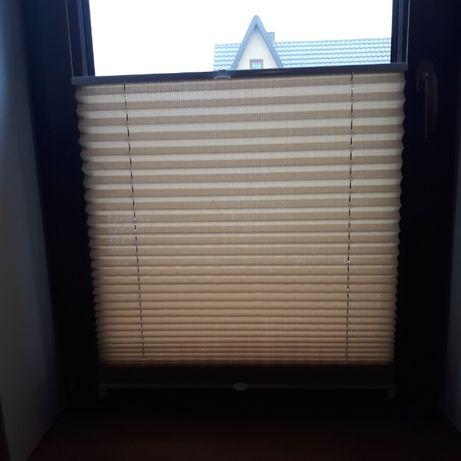 Plisa okienna - roleta , żaluzja szerokość 64 cm