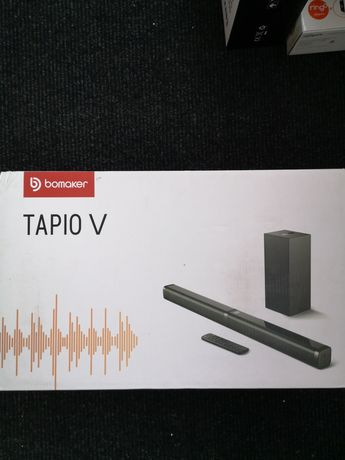 Саундбар Bomaker 100W 2.1 Portable Soundbar with Subwoofer--Tapio V