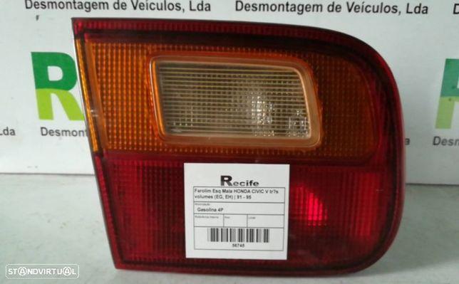 Farolim Esquerdo Mala Honda Civic V Três Volumes (Eg, Eh)