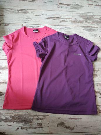 Dwie koszulki damskie treningowe Hi-tec rozmiar M