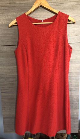 Sukienka czerwona Mango rozmiar M