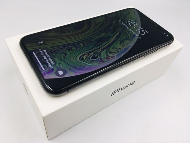 iPhone XS 256GB SPACE GRAY • NOWA bateria • GW 1 MSC • AppleCentrum