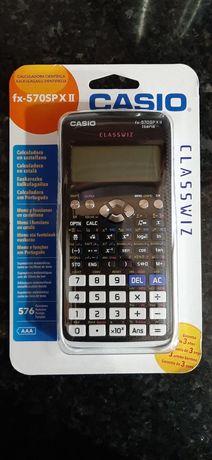 Casio Calculadora Científica fx-570SP X II (NOVA)