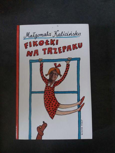 """książka Małgorzata Kalicińska """"Fiołki na trzepaku"""""""