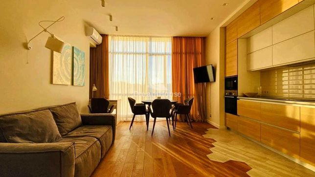 Аренда 2-х комнатной квартиры-студио в ЖК Парк Авеню VIP, Демеевская