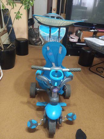 Велосипед детский smarTrike с родительской ручкой