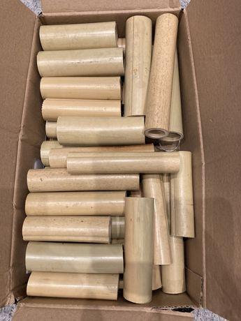 Rurki bambusowe