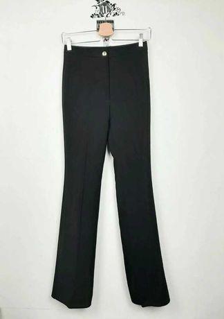 Acne Studios czarne eleganckie spodnie xs s 34