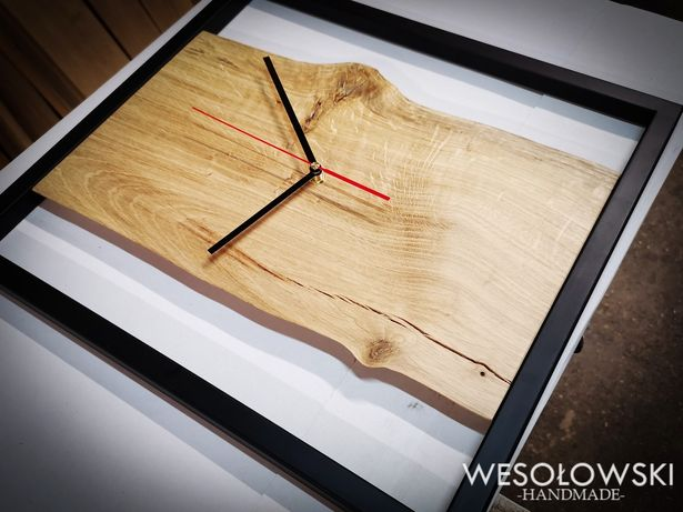 Zegar ścienny typu loft 46x42cm