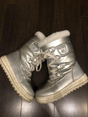 Buty zimowe śniegowce rozm 35