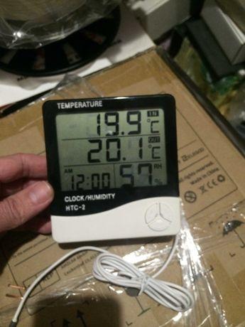 Термометр с Гигрометром и выносным датчиком - Даром!