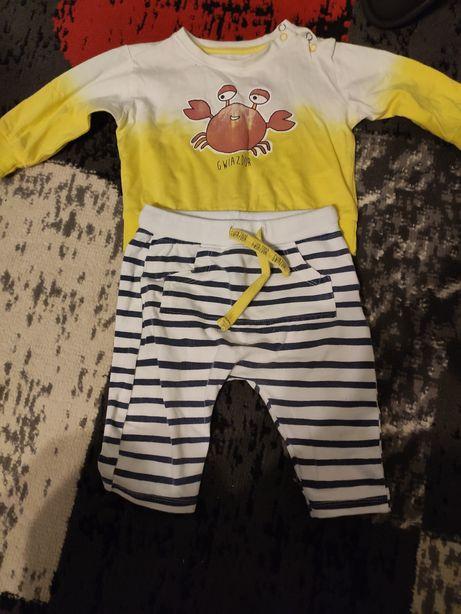 Komplecik. Spodnie i bluza dla chłopca